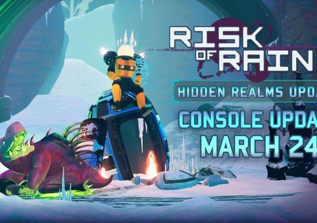 Релизный трейлер Hidden Realms, свежего обновления для Risk of Rain 2 28