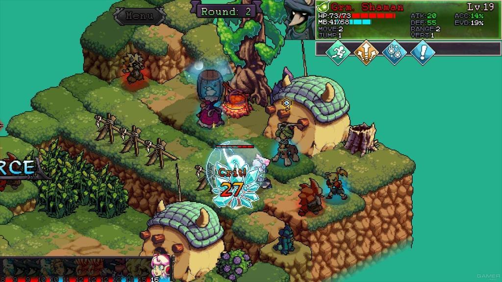 Мир магии и мифические существа в анонсе тактической RPG Fae Tactics для Nintendo Switch 12