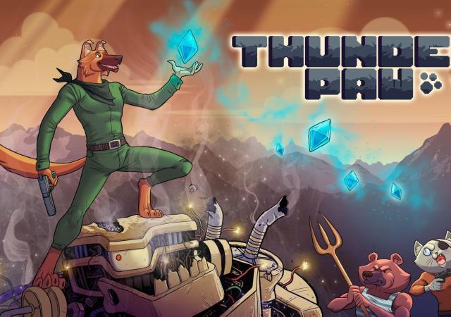 Thunder Paw - Трейлер к релизу проекта на Switch и PS4 24