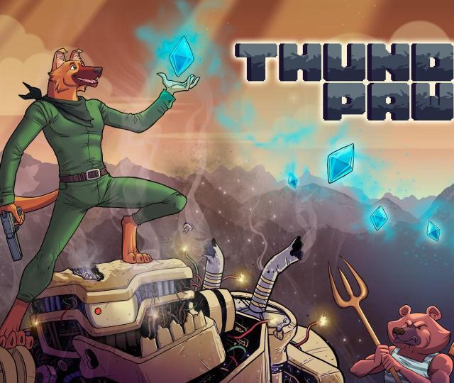Thunder Paw - Трейлер к релизу проекта на Switch и PS4 19