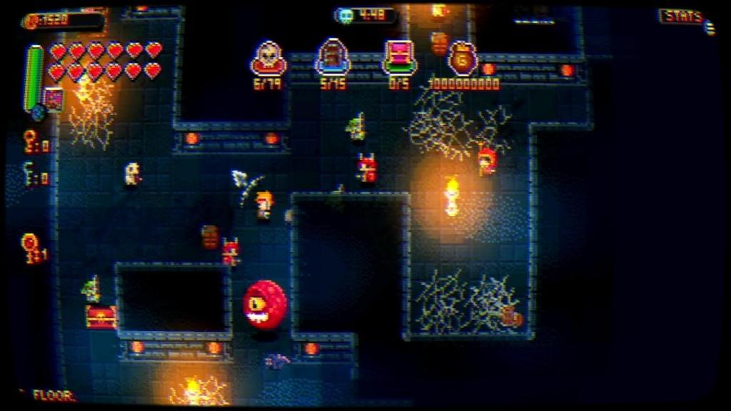 Анонс рогалика Demon's Tier+, пиксели, подземелья и RPG элементы в придачу 1