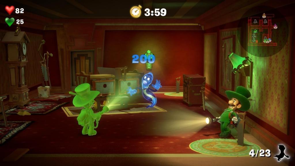 Состоялся релиз первого платного DLC для Luigi's Mansion 3 - Multiplayer Pack Part 1 2