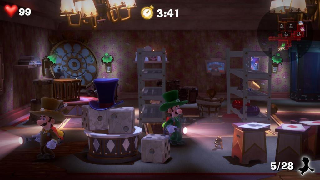 Состоялся релиз первого платного DLC для Luigi's Mansion 3 - Multiplayer Pack Part 1 1