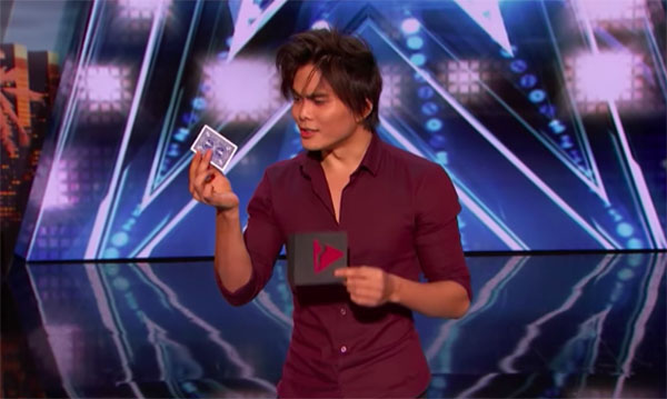 Magician Shin Lim Wows with Card Trick on America's Got ...