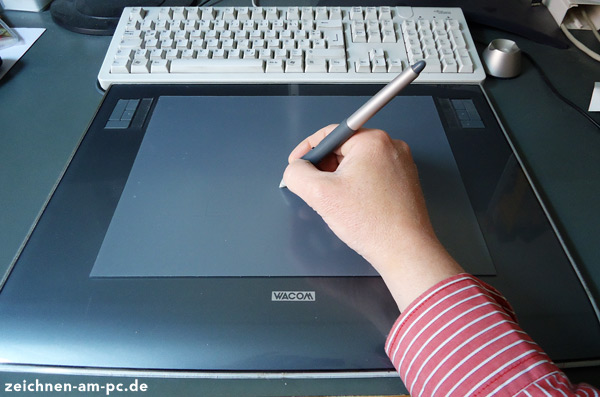 Grafic tablet to draw and paint on a pc
