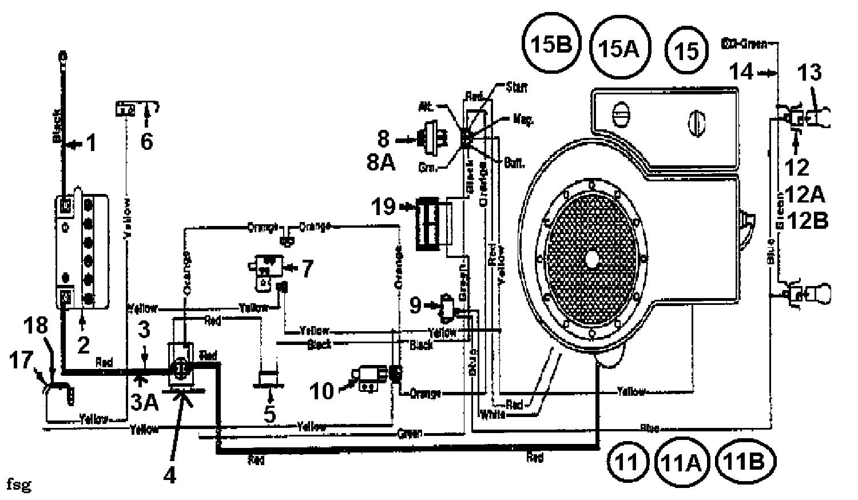 Mtd Rasentraktoren 11 91 133c471e600 Schaltplan