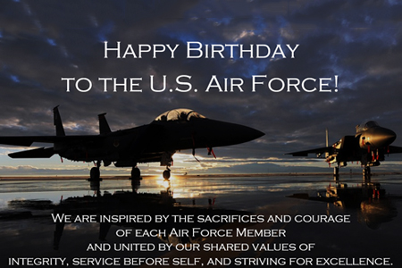 Happy 73rd Birthday U S Air Force