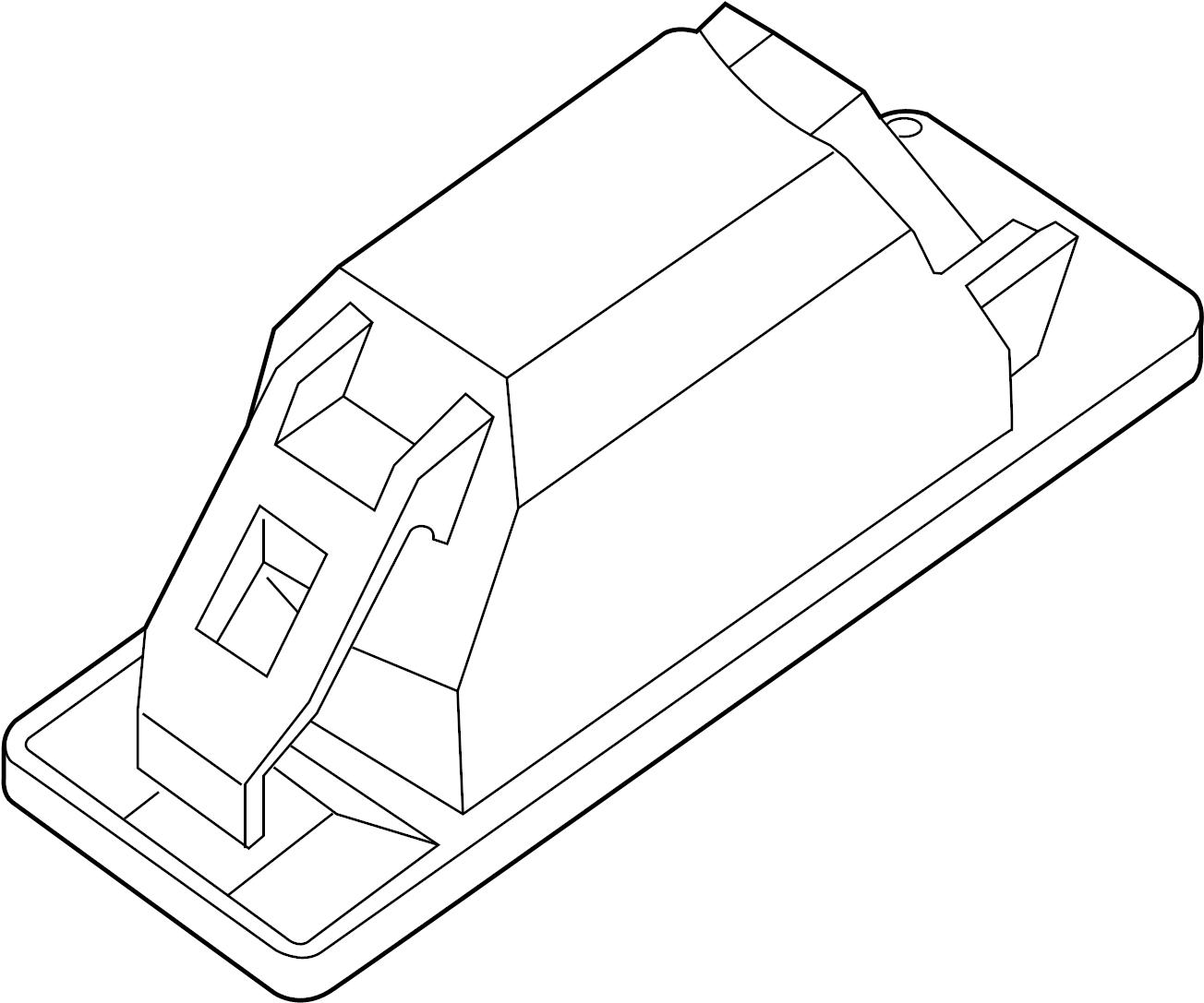 Nissan Sentra License Plate Light Lamp Licence