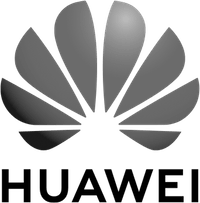 Huawei Logo with flower in it