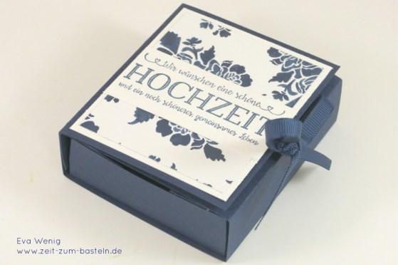 www.zeit-zum-basteln.de - Two-in-one Karte & Box zur Hochzeit (Stampin up)