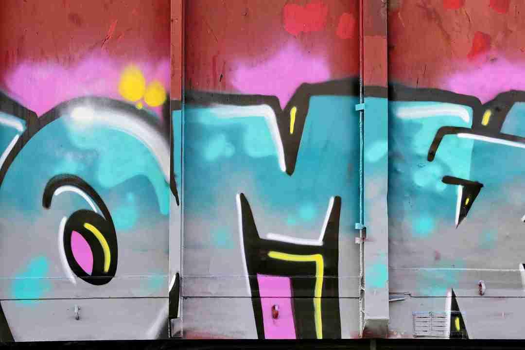 Dieter Rüge- Schrottfoto-Graffiti