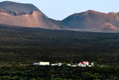 Tommy Pützstück, Vulkanlandschaft auf Lanzarote