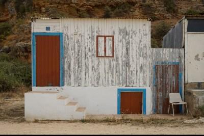 Wolfgang Ahrens Fischerhütten an der Algarve 2017