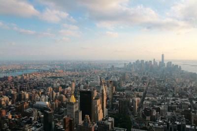 Tommy Pützstück, Blick auf Manhattan