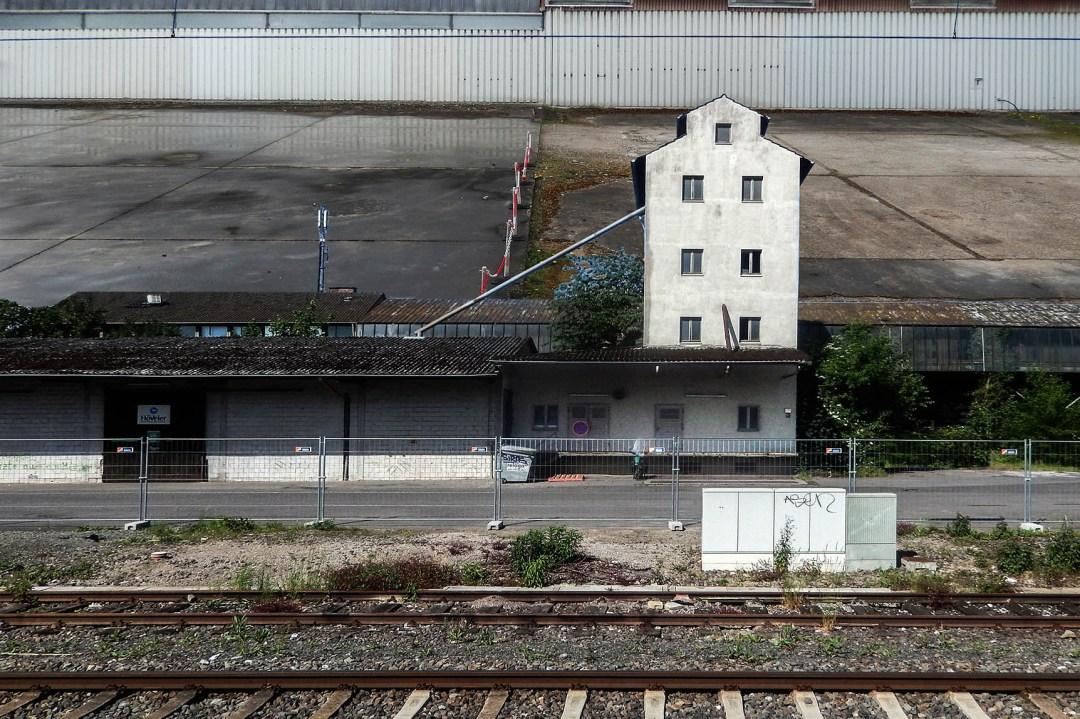Wolfgang Ahrens: An d´r Bahn I, 2015