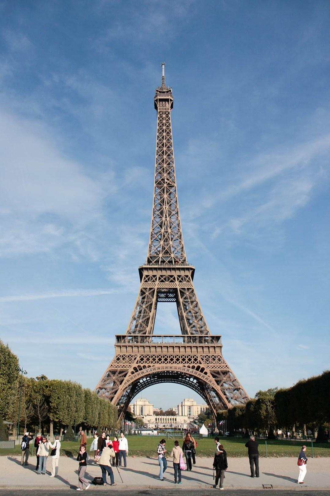 Wolfgang Ahrens: Der Eiffelturm 2009