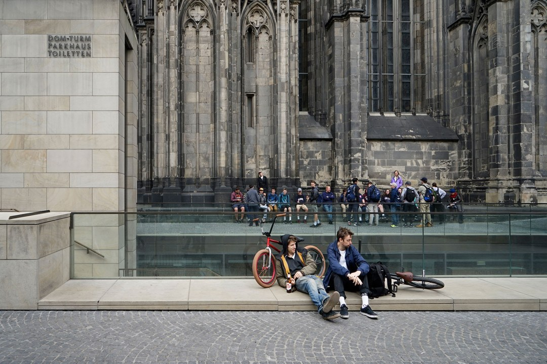 Wolfgang Ahrens Am Kölner Dom 2017