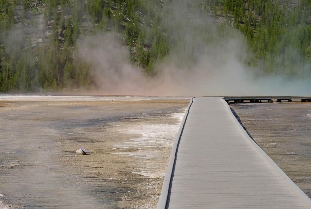 Tommy Pützstück Yellowstone Geysire 2018
