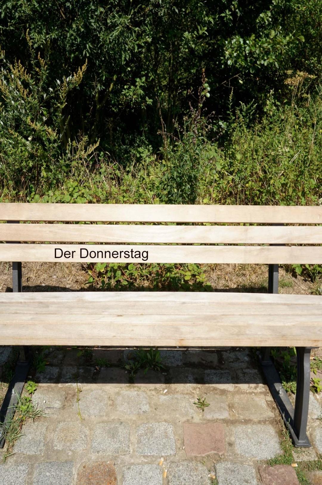 Wolfgang Ahrens Ein Donnerstag im August 2019