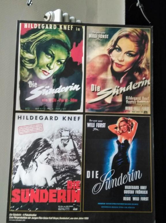 """Filmplakate """"Die Sünderin"""""""