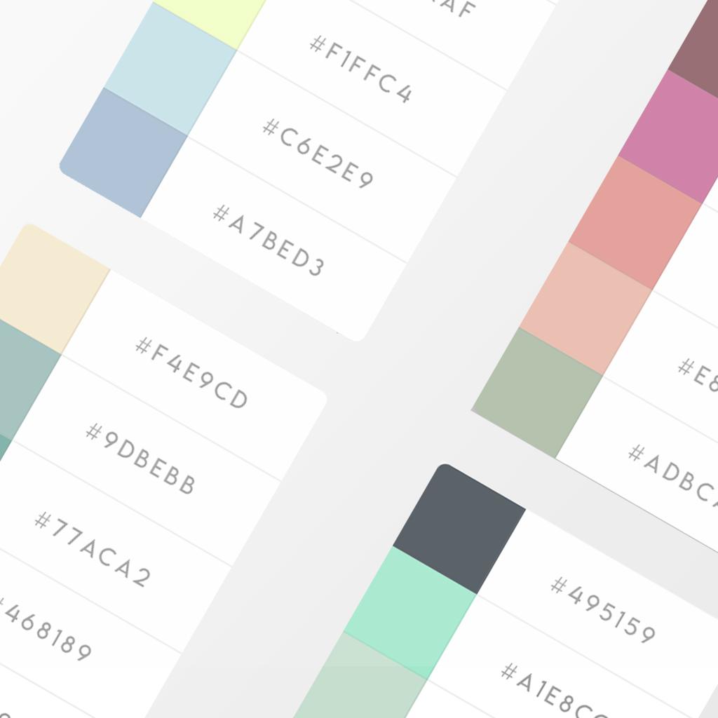 10 Amazing Color Palette Inspiration Part 2 For Graphic Design Ideas