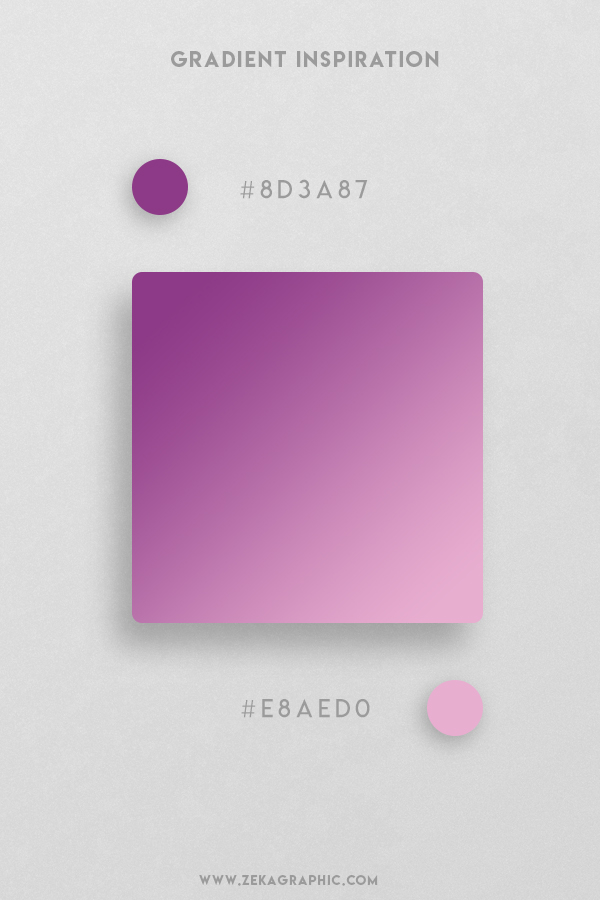 15 Plum Kobi Beautiful Color Gradient Inspiration Design