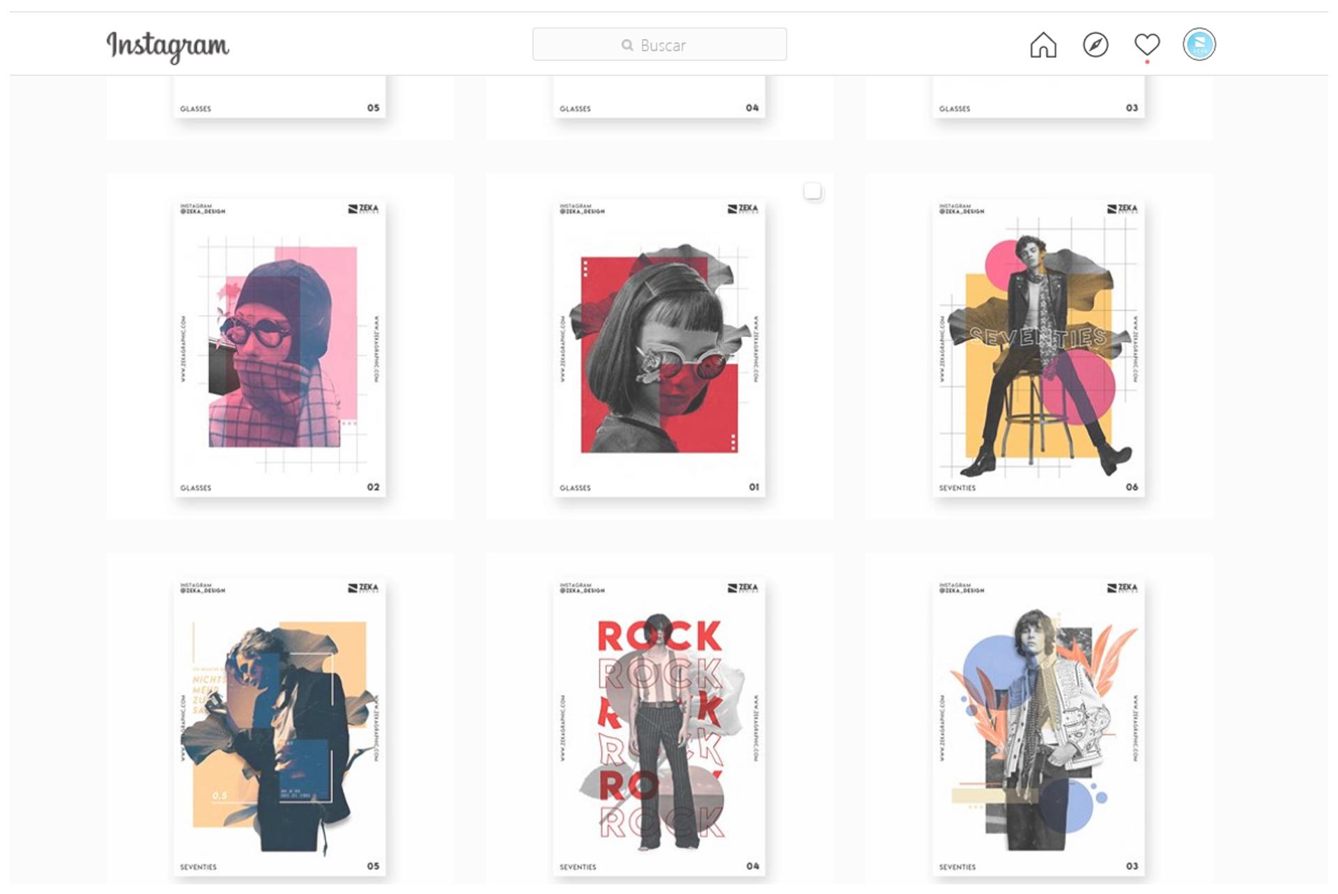 2 Best Website to Graphic Design Inspiration Instagram