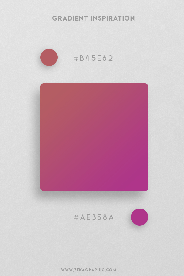 2 Matrix Violet Beautiful Color Gradient Inspiration Design