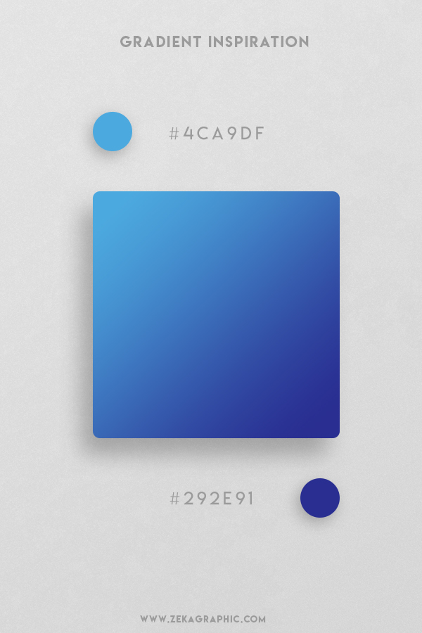 2 Picton Blue Bay Of Many Beautiful Color Gradient Inspiration Design