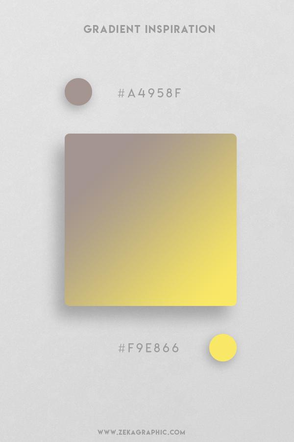 3 Zorba Portica Beautiful Color Gradient Inspiration Design