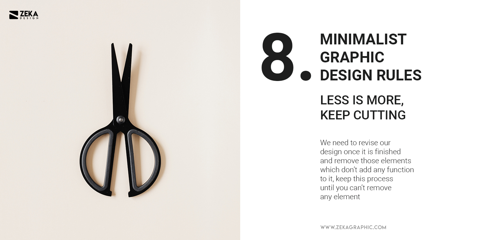 8 Minimalist Graphic Design Rules Less Is More