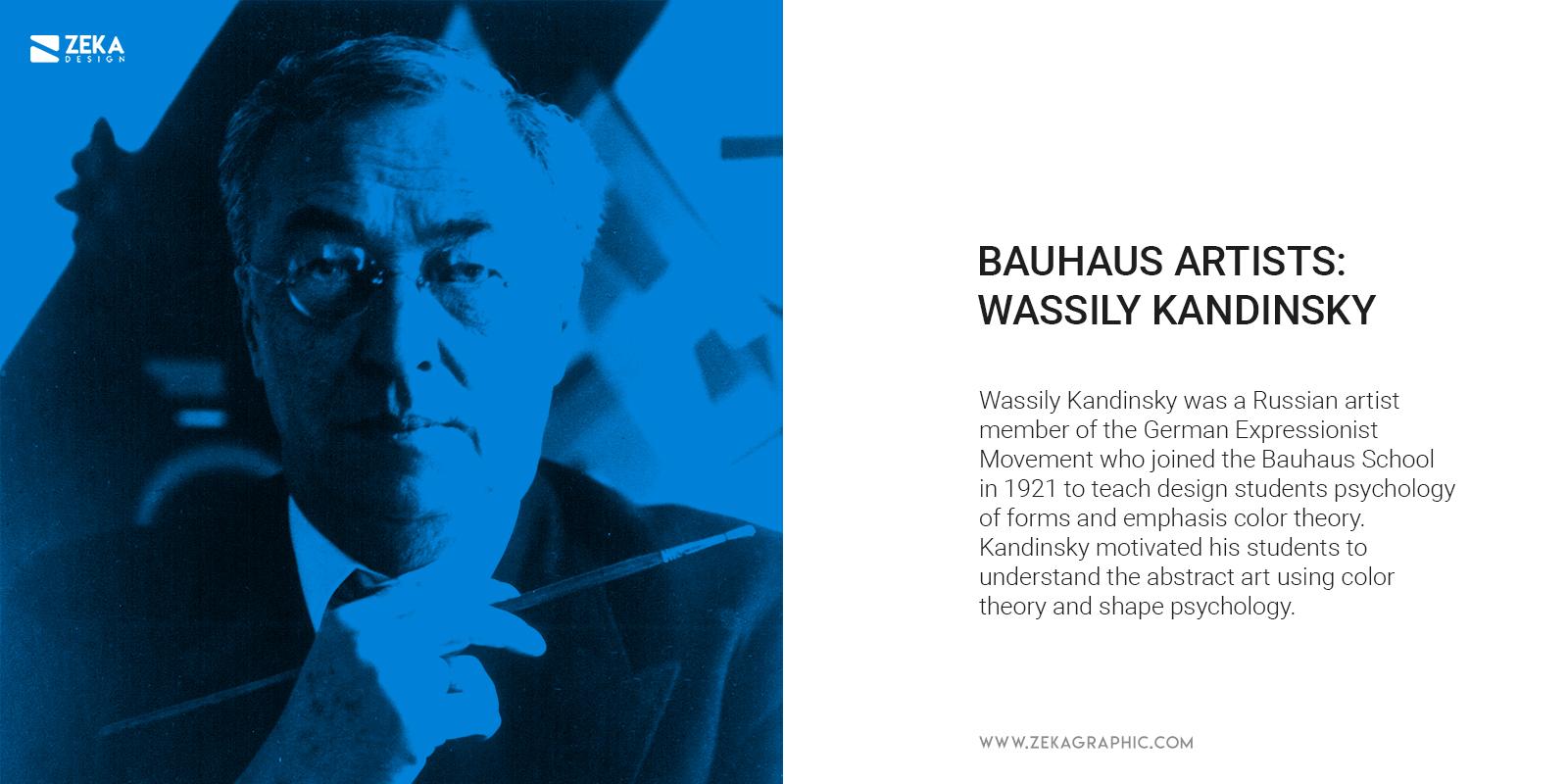 Bauhaus Artist Wassily Kandinsky Graphic Design Abstract Art