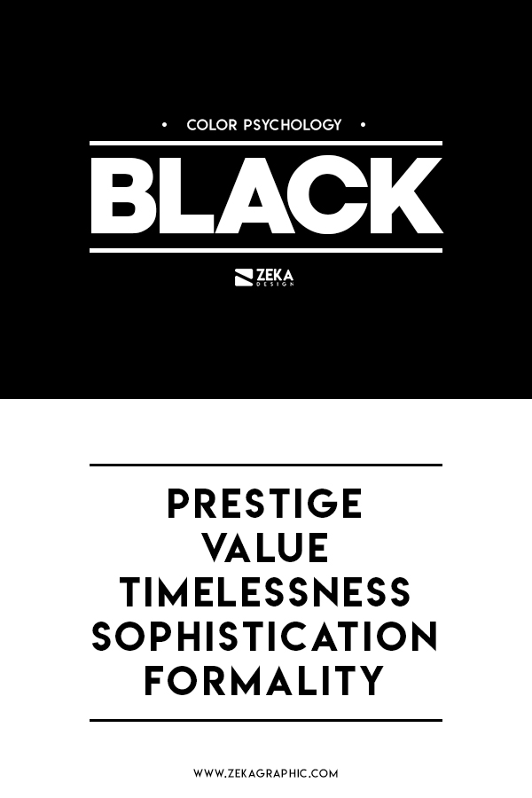 Black Color Meaning Graphic Design in Color Theory