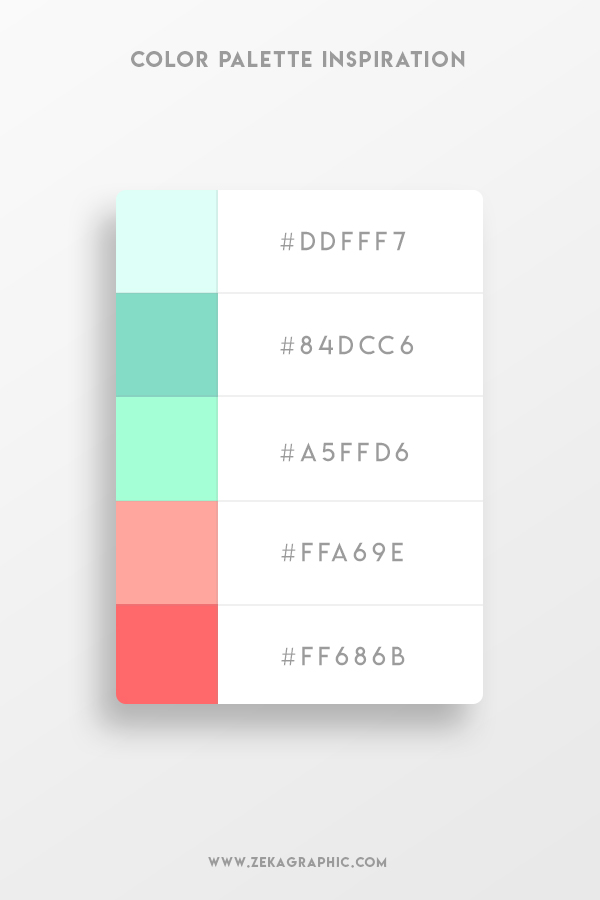 Color Palette Design Inspiration Graphic Design 1