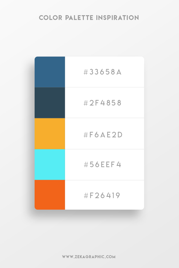 Color Palette Design Inspiration Graphic Design 10