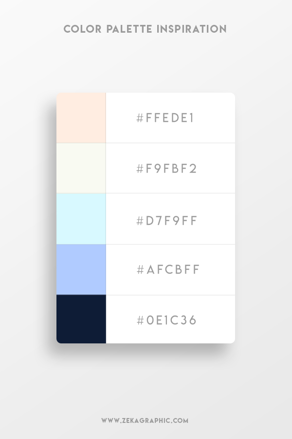 Color Palette Design Inspiration Graphic Design 2