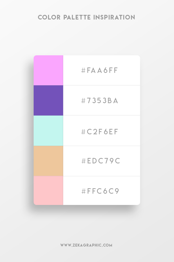 Color Palette Inspiration Graphic Design 1