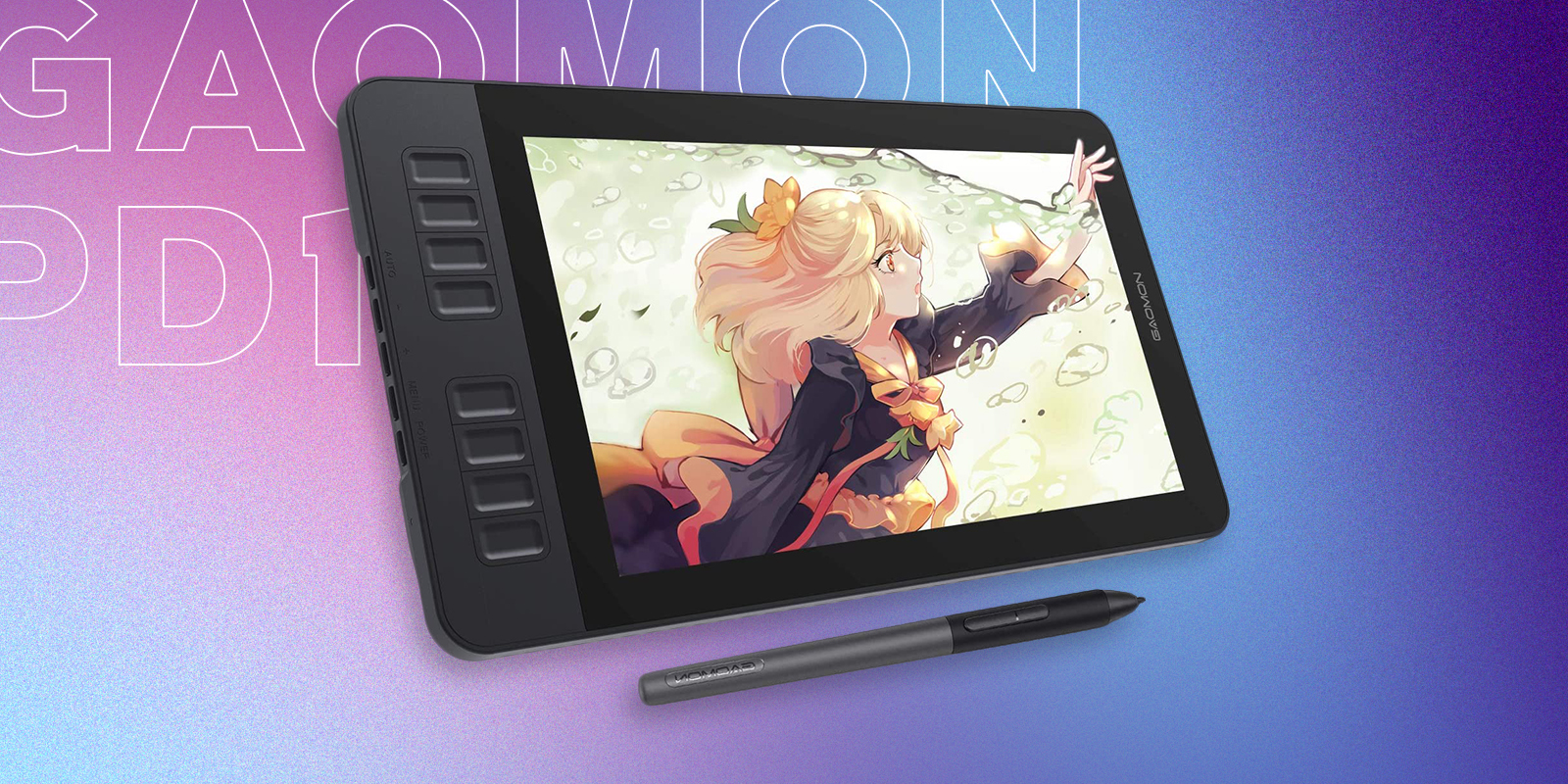 Gaomon PD1161 Best Drawing Tablet Under 300