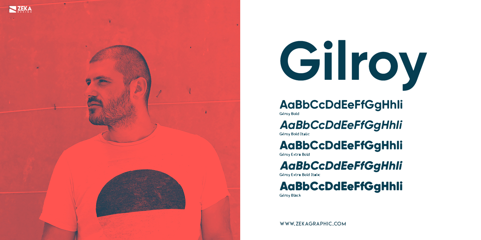 Gilroy Fonts Every Graphic Designer Should Have