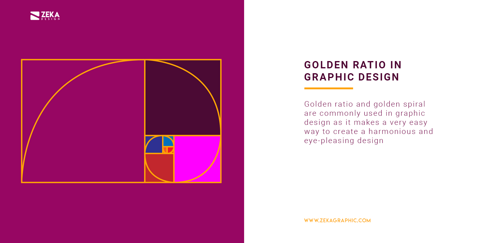 Golden Ratio in Graphic Design Explained