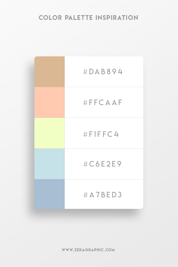 Graphic Design Trends 2021 Muted Color Schemes