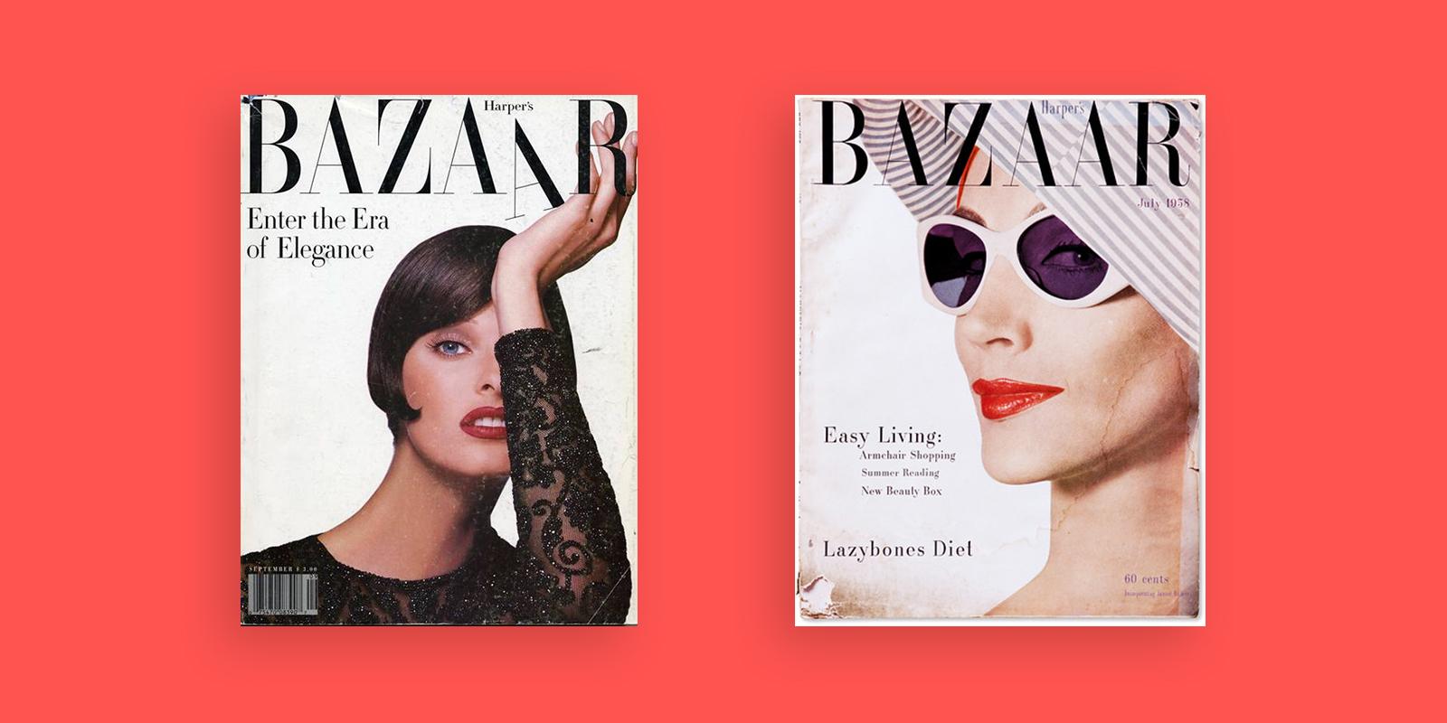 Harpers Bazaar Cover Didot Typeface 2