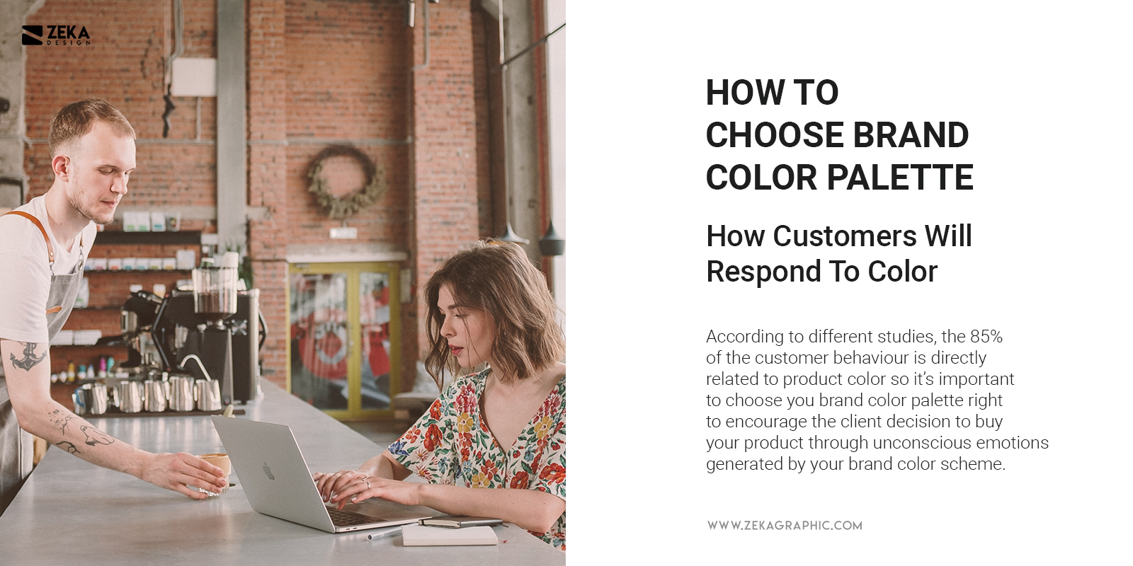 How customers will respond to your brand color palette 2