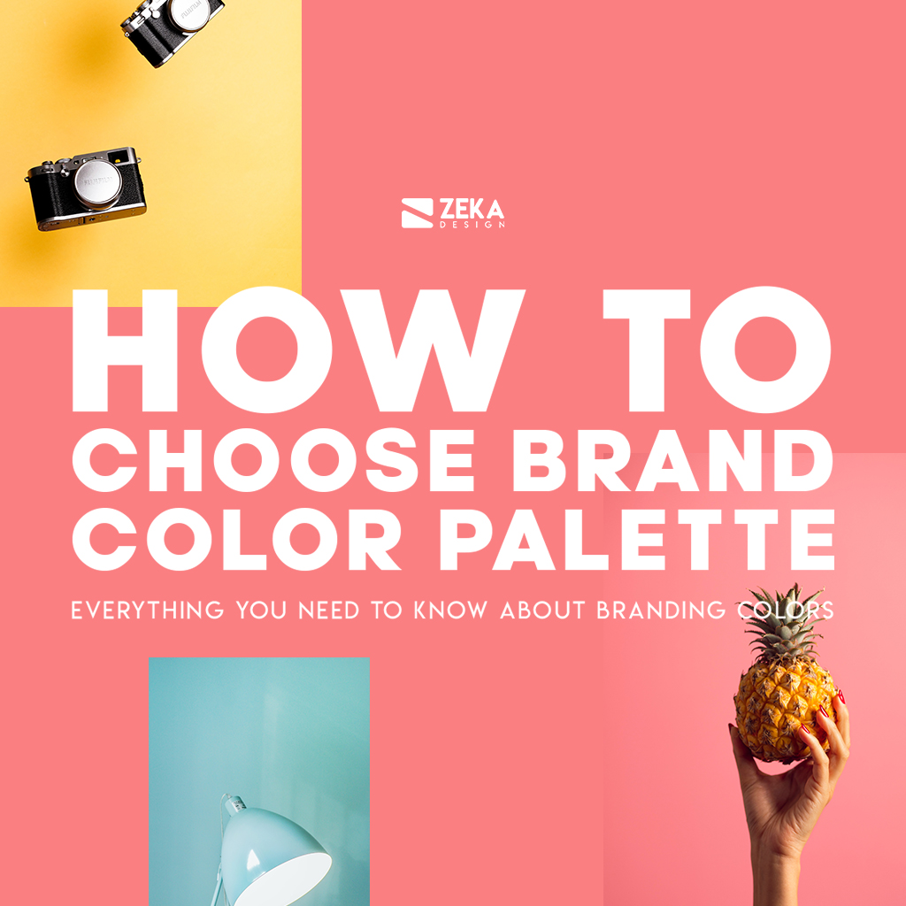 How to Chose Brand Color Palette Graphic Design Guide