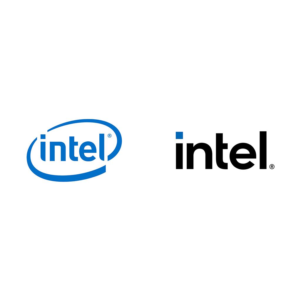 Logo Design Trends 2021 Simplification Intel Rebrand