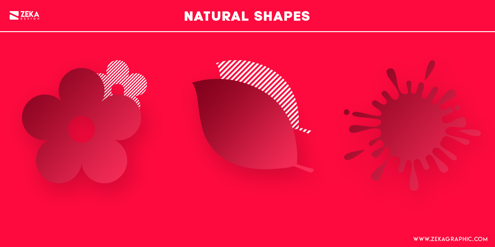 Natural Shapes Psychology in Graphic Design