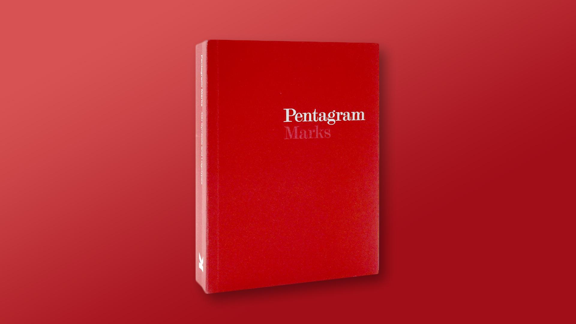 Pentagram Marks Graphic Logo Design Book