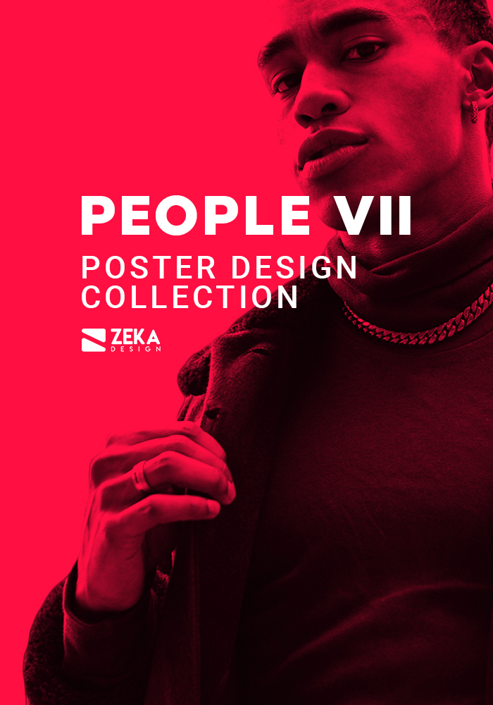 2021 People VII Poster Design Inspiration by Zeka Design