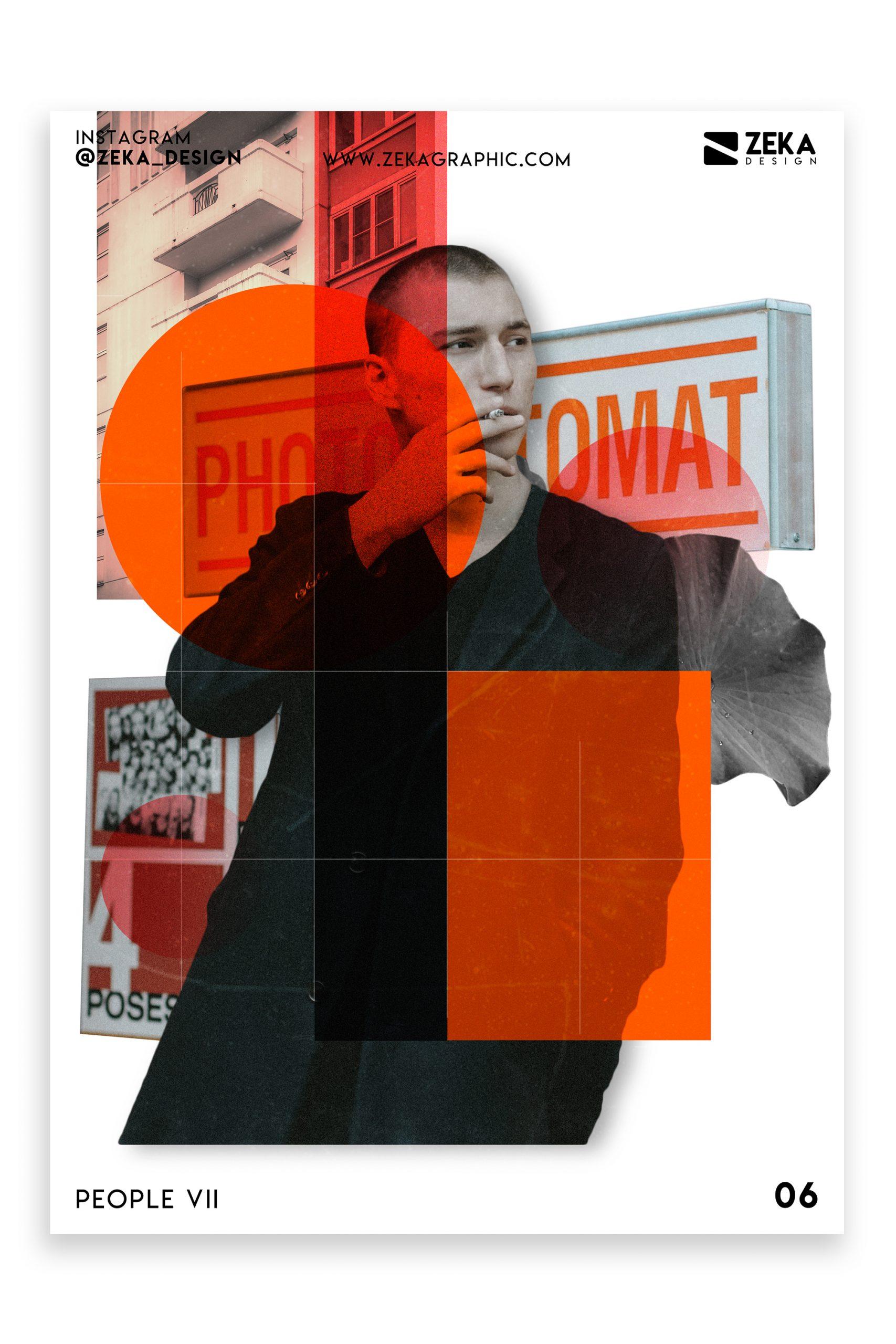 People VII Poster Design Inspiration Graphic Design Portfolio 6