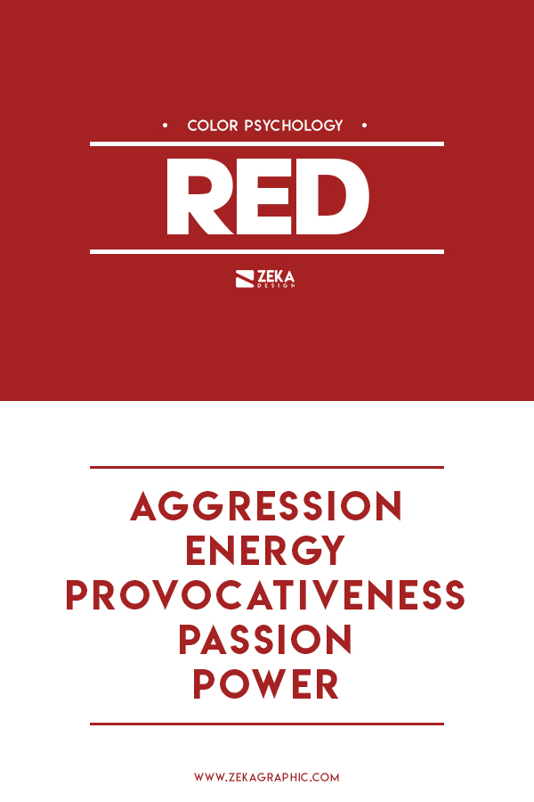 Red Color Meaning Graphic Design Color Theory Guide